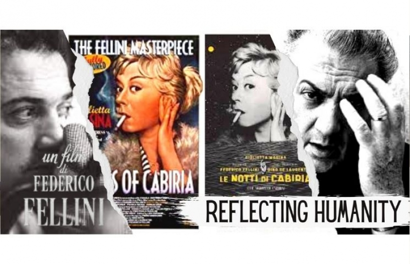 Reflecting humanity through the struggle of a woman: Federico Fellini